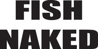 Fish Naked Decal FSN1 #26 Boat/Truck Window Bumper Stickers