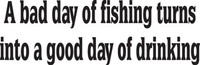 Fishing Decal FSN1 #3  Vinyl Boat/Truck Window Stickers