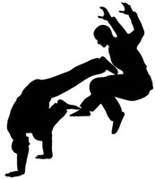 Martial Art Fight Decal STSBS #8 Fighting Vinyl Window Truck Stickers