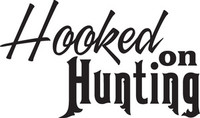 Hooked On Hunting Decal, FSN1-132 Window Sticker