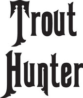Trout Hunter Decal, FSN1-14 Truck/Boat Window Sticker