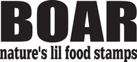 Boar Natures Lil Food Stamps Decal, HNT5-136 Window Sticker