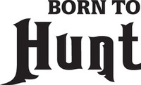 Born To Hunt Decal, HNT1-79 Sticker