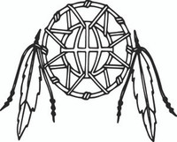 Dream Catcher Decal Nat #1 Indian Window Sticker