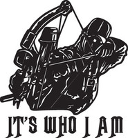 Its Who I Am Deer Hunting HNT1-260 Wildlife Vinyl Hunting Stickers