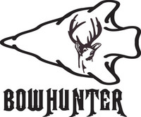Bowhunter Deer Decal HNT1-215 Wildlife Hunting Stickers