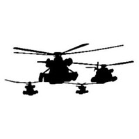 Military Decal STSBW #18 Airforce/Army Vinyl Window Stickers
