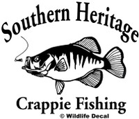 We have Crappie Fish Decals and Car Stickers.