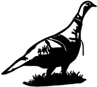 Turkey Hunting Decals and Car Stickers. Personalize any of our hunting decals with your choice of text, color and size.These are perfect for trucks, cars, windows, gun cabinets, 4-wheelers, boats, mailboxes or any clean semi-smooth surface. Show your passion for hunting.