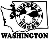 Washington State Duck Hunting Stickers and vinyl Decals for your Truck, Boat, Gun Cabinet and more.