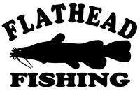 Flathead Fishing Decals and Window Stickers