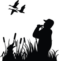 Vinyl Duck Hunting Decals and Stickers