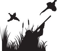 Pheasant Hunting Decal