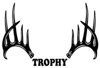 Trophy Deer Decals and Stickers