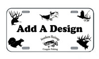 Custom Vinyl Car Tags