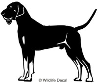 Black & Tan Hound Decals