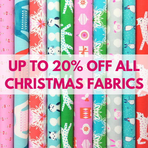 Up To 20% Off All Christmas Fabric