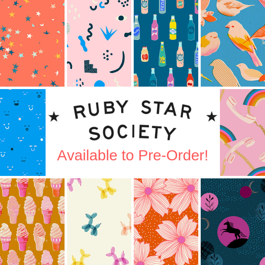 Ruby Star Society now in stock!