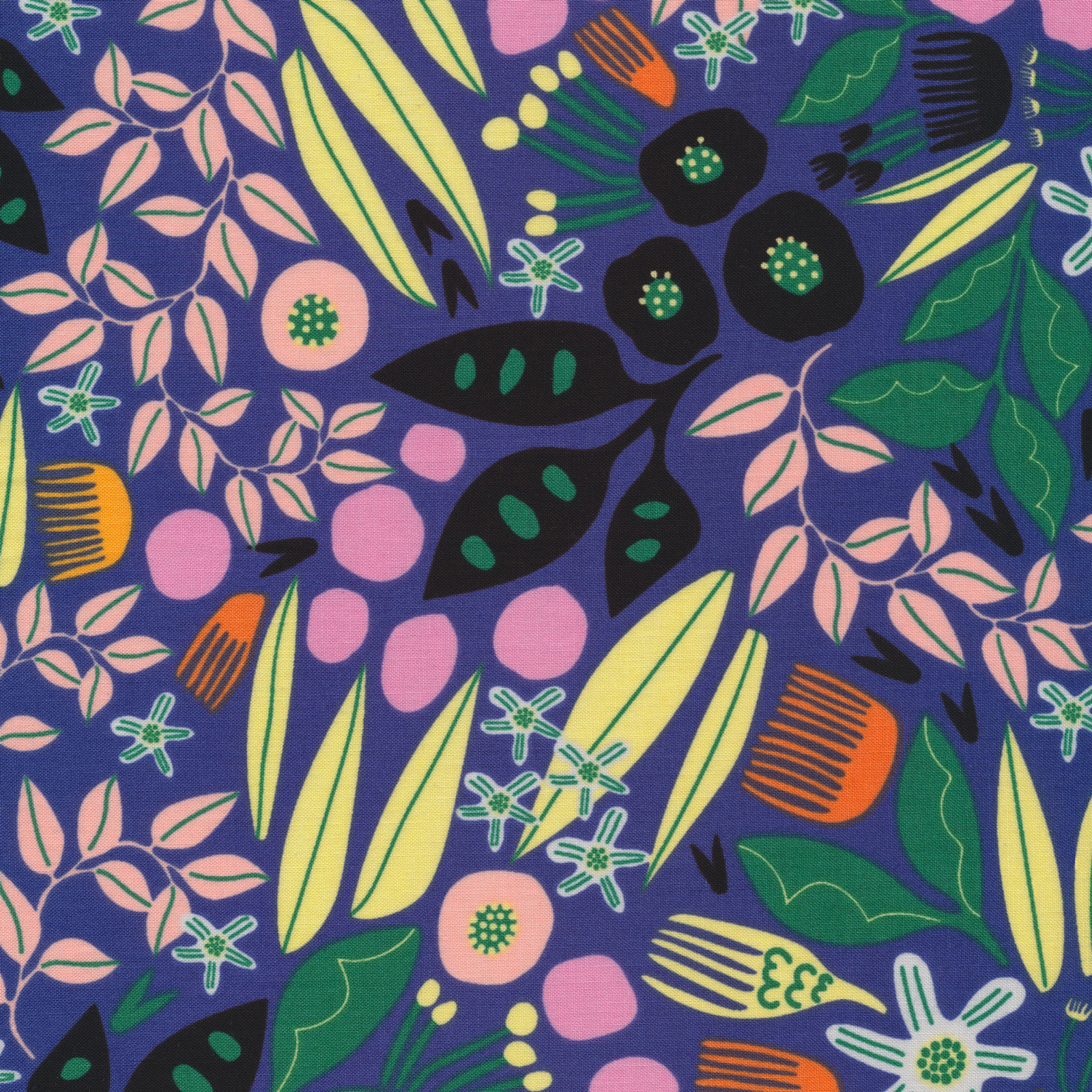 Bwindi from the Wild collection by Cloud9 Fabrics, 100% organic cotton fabric