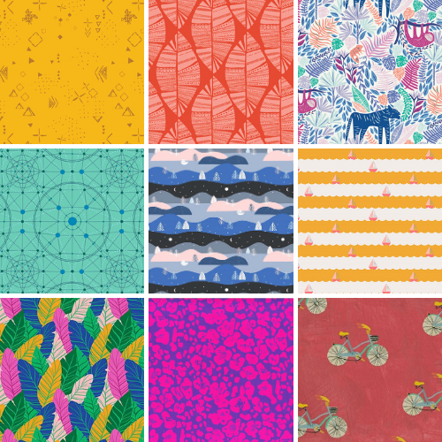 Fabrics from The Fabric Fox