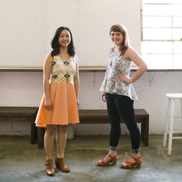 Riding Peplum and Party Dress Sewing Pattern by April Rhodes