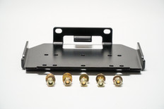 Front sway bar winch plate
