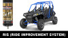Four seat RZR 800 wakes up completely with our internal shock work