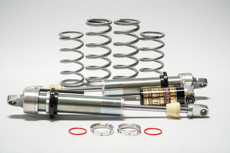 Full 2.5 shock system with Dual rate spring kit