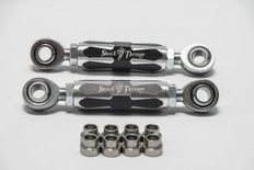 Adjustable, billet sway bar links