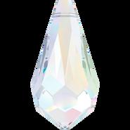 Swarovski Pendant 6000 - 15x7.5mm, Crystal Aurore Boreale (001 AB), 6pcs