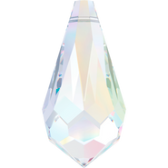 Swarovski Pendant 6000 - 22x11mm, Crystal Aurore Boreale (001 AB), 2pcs