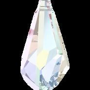 Swarovski Pendant 6015 - 17mm, Crystal Aurore Boreale (001 AB), 2pcs