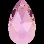 Swarovski Pendant 6106 - 16mm, Crystal Lilac Shadow (001 LISH), 2pcs