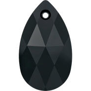 Swarovski Pendant 6106 - 16mm, Jet (280), 2pcs