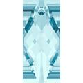 Swarovski Pendant 6110 - 30X14mm, Aquamarine (202), 1pcs