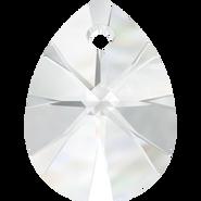 Swarovski Pendant 6128 - 12mm, Crystal (001), 4pcs