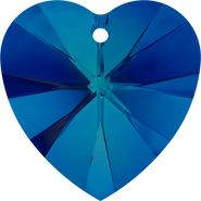 Swarovski Pendant 6228 - 14.4x14mm, Crystal Bermuda Blue (001 BBL), 2pcs