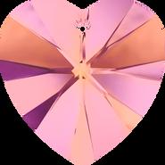 Swarovski Pendant 6228 - 18x17.5mm, Crystal Astral Pink (001 API), 2pcs