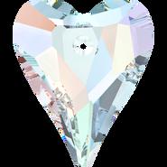 Swarovski Pendant 6240 - 17mm, Crystal Aurore Boreale (001 AB), 2pcs