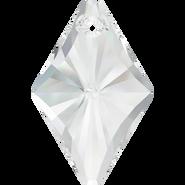 Swarovski Pendant 6320 - 14mm, Crystal (001), 4pcs