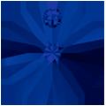 Swarovski Pendant 6428 - 6mm, Dark Indigo (288), 20pcs