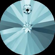 Swarovski Pendant 6428 - 6mm, Aquamarine (202), 20pcs
