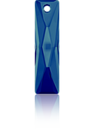 Swar Pendant 6465 - 13.5x6mm, Crystal Bermuda Blue (001 BB), 2pcs