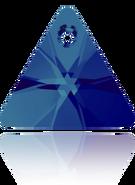 Swar Pendant 6628 - 12mm, Crystal Bermuda Blue (001 BB), 2pcs