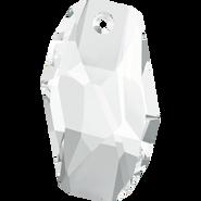 Swarovski Pendant 6673 - 18mm, Crystal (001), 2pcs