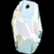 Swarovski Pendant 6673 - 18mm, Crystal Aurore Boreale (001 AB), 2pcs