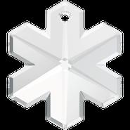Swar Crystal Pendant 6704 - 20mm, Crystal (001), 2pcs