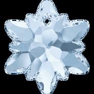 Swarovski Pendant 6748 - 18mm, Crystal Blue Shade (001 BLSH), 2pcs