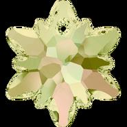 Swarovski Pendant 6748 - 18mm, Crystal Luminous Green (001 LUMG), 2pcs