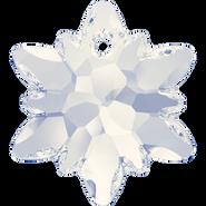 Swarovski Pendant 6748 - 18mm, White Opal (234), 2pcs